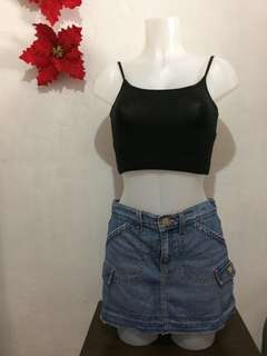 Levi's Maong Mini Skirt