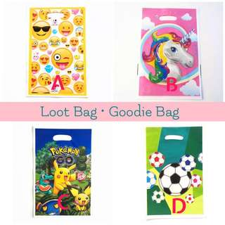 🛍 PARTY LOOT BAG • GOODIE BAG