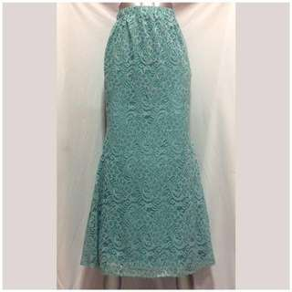Mint Lace Skirt