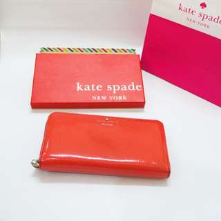 Kate Spade Wallet Authentic red branded dompet original