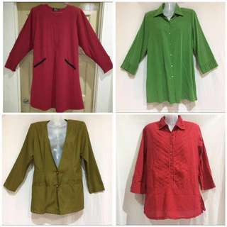 Preloved Blouses and Blazer