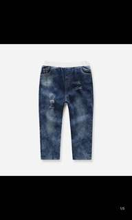 Girl jean new size 100cm toddler size