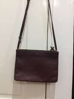 Celine Trio large in maroon