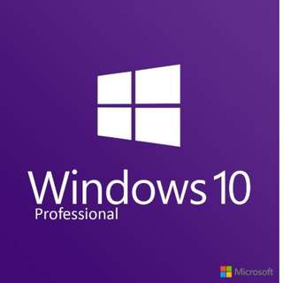 Windows 10 Professional 32-bit 64-bit