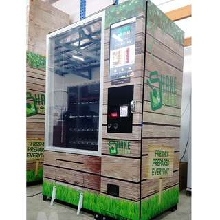 Vending Machine Sticker Print + Wrap Services