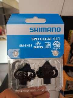 Shimano SM SH51 cleats