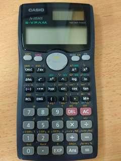Casio Calculator Solar Powered