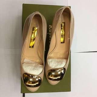 Rupert Sanderson 粉色4cm high heel