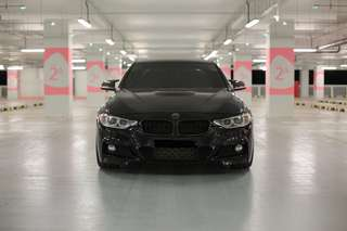 M Performance front bumper for F30