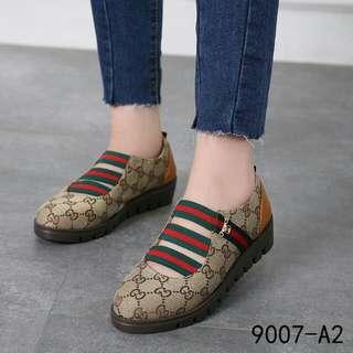 *HOT ITEM😍👍🏻*jj Top Best Seller  Sepatu Gucci 9007-A2 Kwalitas : Semipremium
