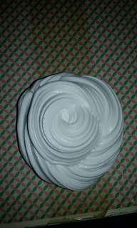 White butter base slime