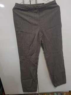 Elegant Charcoal Gray Slacks