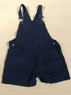 Navy blue overall