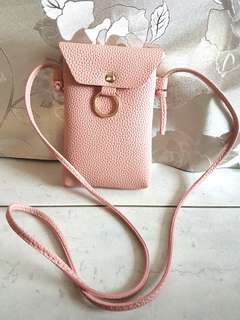 Pink Sling pouch