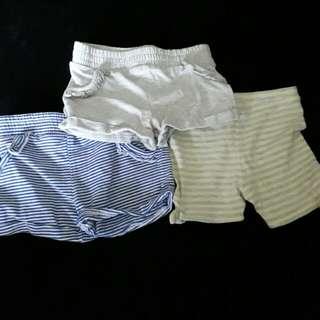 Brand New Baby Girl's Shorts Bundle