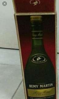 黑章人頭馬VSOP700mI酒盒一個