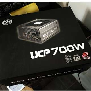 Cooler Master UCP 700W RS-700-AAAA-A3 80 Plus Silver Power Supply PSU 80+