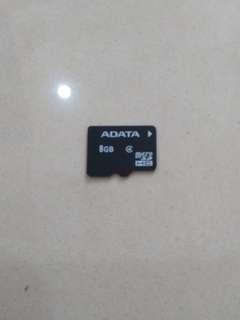 ADATA 8GB memory card