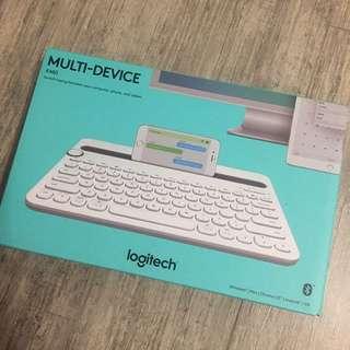 Logitech multi-device keyboard 藍芽鍵盤