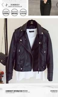 ✔️Women's Spring/Autumn PU leather Jacket