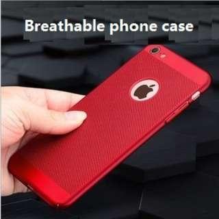 Quality TPU ventilate breathable phone case I6/6S/7/8 plus