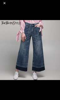 Wide Leg Jeans Twin Two Style
