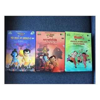 Chhota Bheem Movie DVDs - 3 Nos.