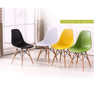 Stylish Erland Doily Chair (Black & White)
