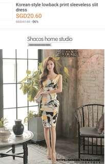 Nice low cut dress