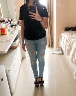 Ripped Jeans LC Waikiki