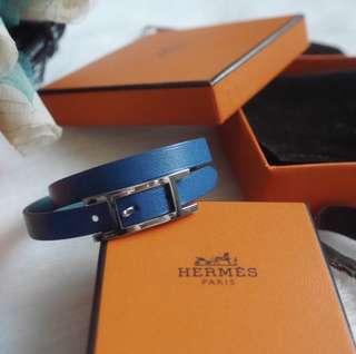 Hermes hapi double tour bracelet