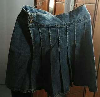 Rok mini jeans