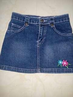 Denim Skirt (for girls ages 7-10)