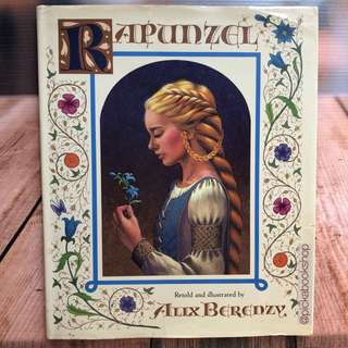 Rapunzel - Brothers Grimm - Retold by Alix Berenzy