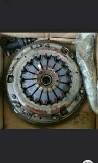 2007 stock wrx clutch for 5 speed with flywheel and clutch pump