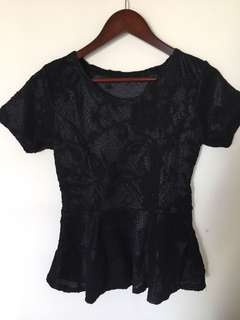 Office lace top