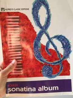 Sonatina Album Piano Classics
