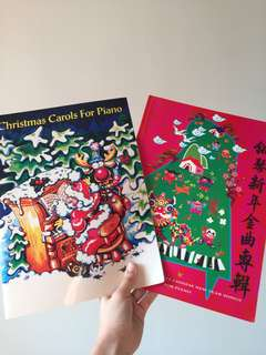 Christmas Carols and Chinese New Year Piano Scores