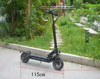 Lelong cheapest dual motor e scooter / ultron dualtron