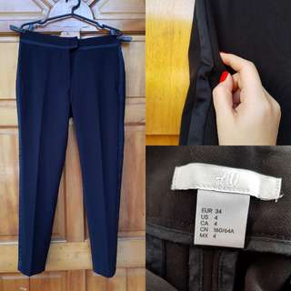 H&M Black Work Pants