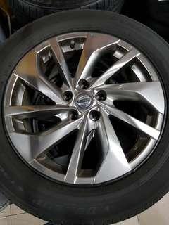 18 Inch 5x114.3 Used Rim & Tyre