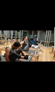Small Group Reformer Pilates Class