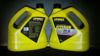 Lupromax Hyperion 5w40 (For Cars)