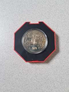 $10 cupro nickel Coin