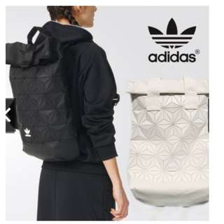 Original Adidas x Issey Miyake 3D Urban Mesh Roll Up Backpack