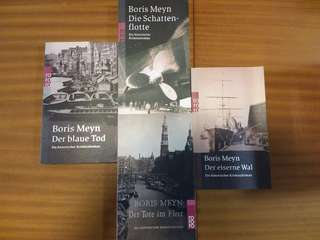 Books in German - Boris Meyn