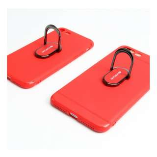 VORSON Silicone phone case w/back ring stander I6/6S/7/8 plus