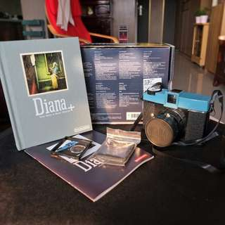 🚚 【LOMO】Diana+ 套裝 經典120底片相機 針孔/全景/重曝/B快門/玩具/二手
