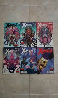 """X-Men Vol 3 (Marvel Comics 6 Issues; #30 to 35, complete story arc on """"Blank Generation"""")"""