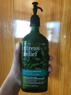 Aromatherapy Stress Relief Body Lotion